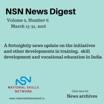 Skill development news India- March02-2016