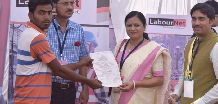LabourNet Training Certificate