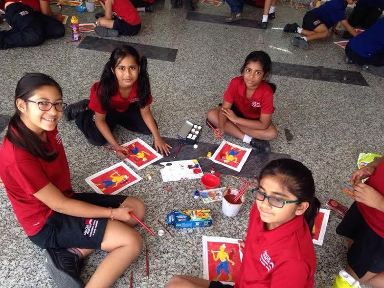 Sancta Maria School Hyderabad - Art festival