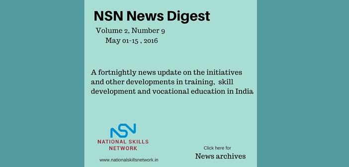 Skill Development News Digest 150516