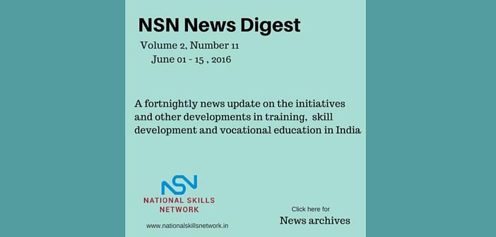 Skill Development News Digest - 150616