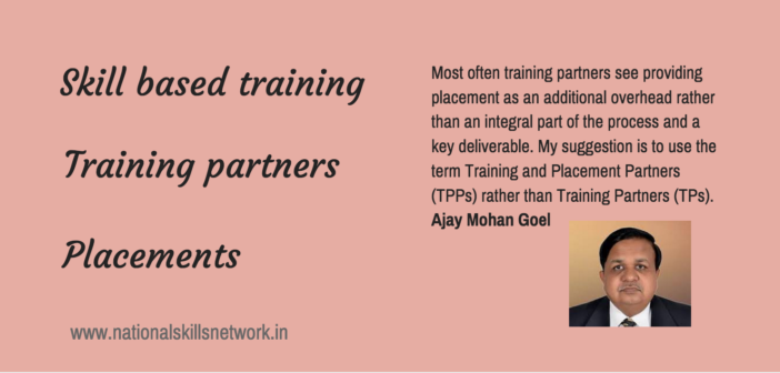 Ajay Mohan Goel skill development