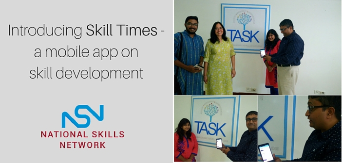 Skill Times mobile app on skill development