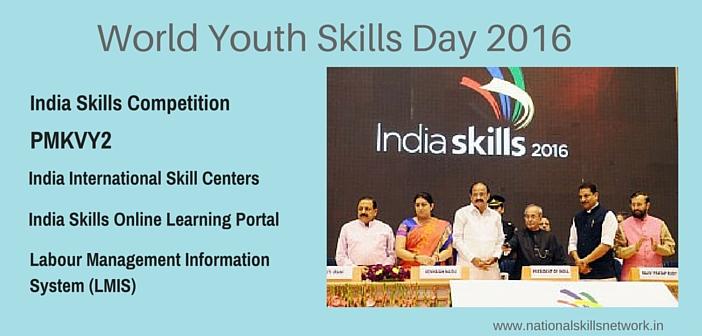 World Youth Skills Day 2016 India