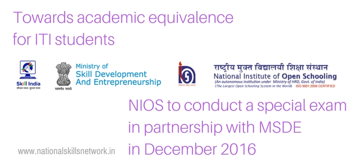 nios exam for iti students will help in academic equivalence