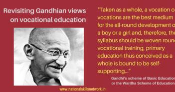 Mahatma Gandhi on craft-centric education
