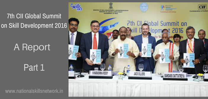 CII Global Summit on Skill Development 2016 Report Part 1