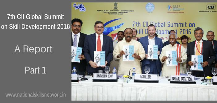 CII Global Summit on Skill Development 2016 Report Part 1