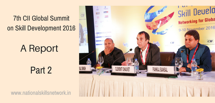 CII Global Summit on Skill Development 2016 Part 2
