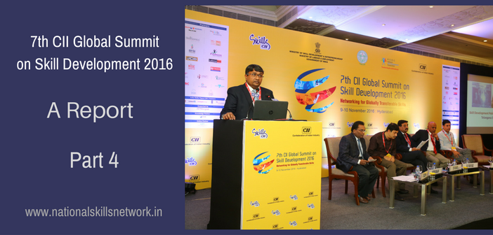CII Global Summit on Skill Development 2016 Part 4