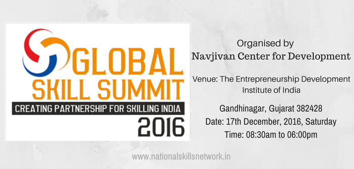 Global Skills Summit 2016 Gujarat
