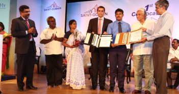 Saint_gobain_lwe_student_receiving_the_diploma_completion__certificate_during_convocation