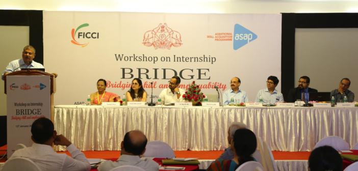 "ASAP Kerala and FICCI organised ""Bridge 2017"" – A workshop on Internship"