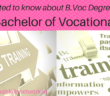 B.Vocational Degree
