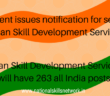Indian Skill Development Services ISDS