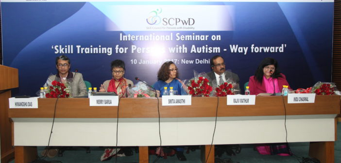 International Seminar on Skill Training for Persons with Autism – Way Forward – A Report
