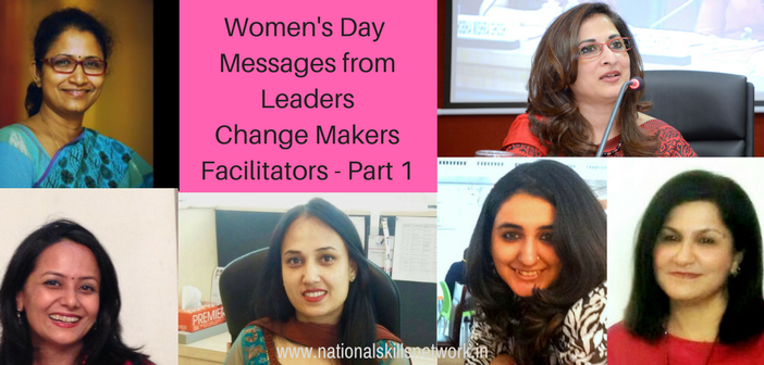 women leaders in skill development part 1