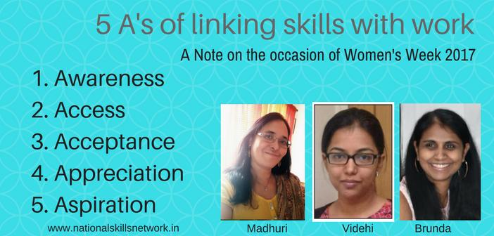 Linking skills and work