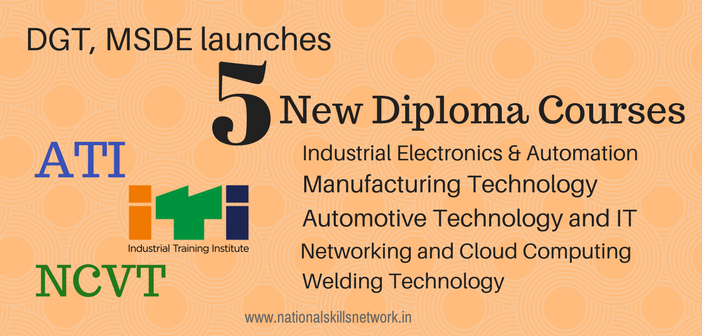 5 new diploma courses