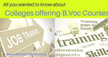 B.Voc colleges