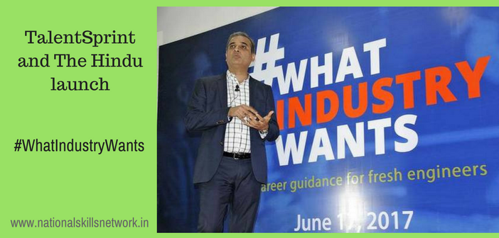 TalentSprint launches #WhatIndustryWants