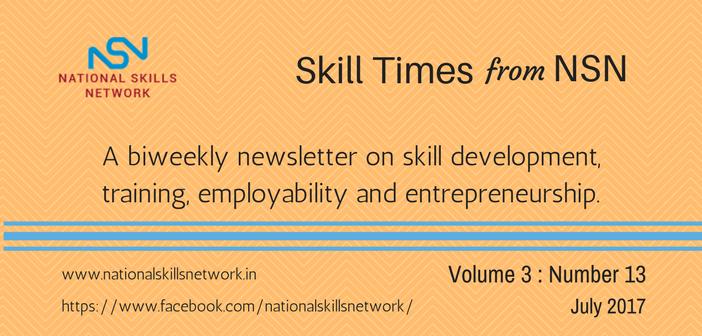 Skill Development News Digest 010717