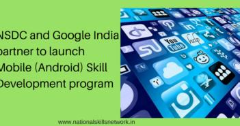 NSDC Google India partnership