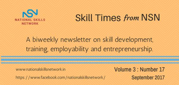 Skill Development News Digest 010917