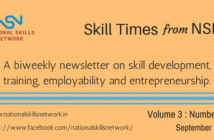 Skill Development news digest 160917