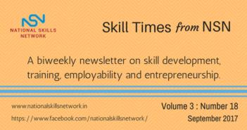 Skill Development news digest 160917