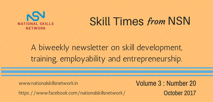 Skill Development News Digest 201017