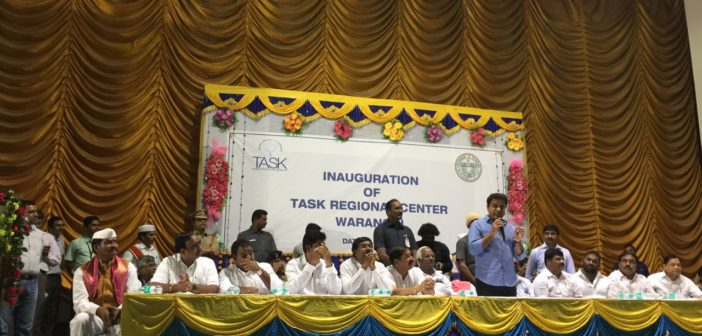 Telangana Academy for Skill and Knowledge (TASK) inaugurates first Regional Center at Warangal