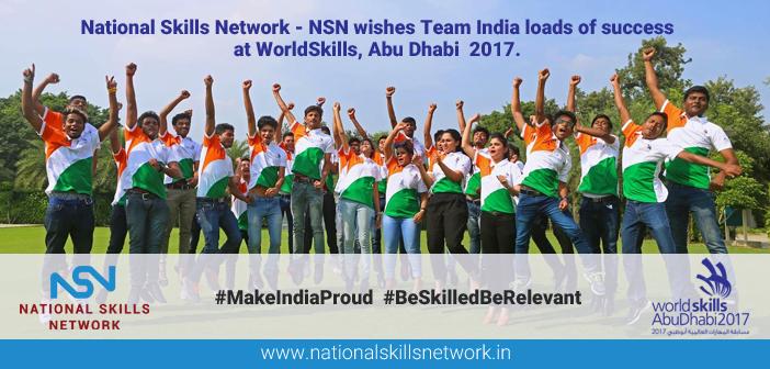 Team India at WorldSkills Abu Dhabi 2017