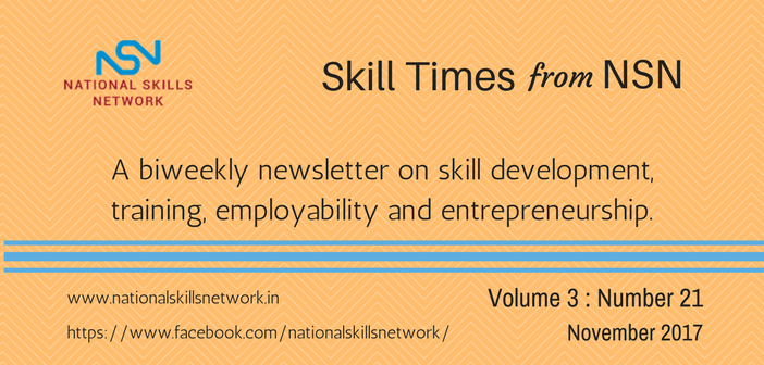 Skill Development News Digest 011117