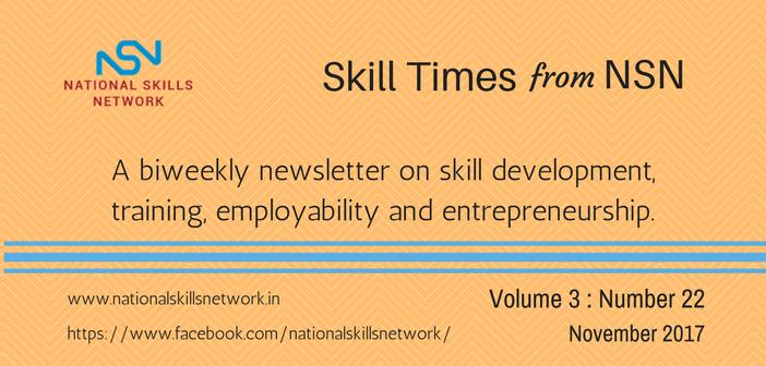 Skill Development News digest 161117