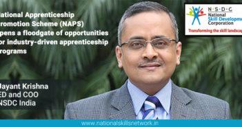 Apprenticeships NAPS NSDC Jayant Krishna