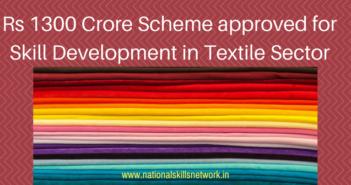 skill development in textile sector