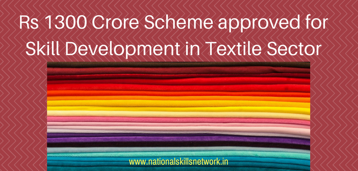 skill development in textile sector