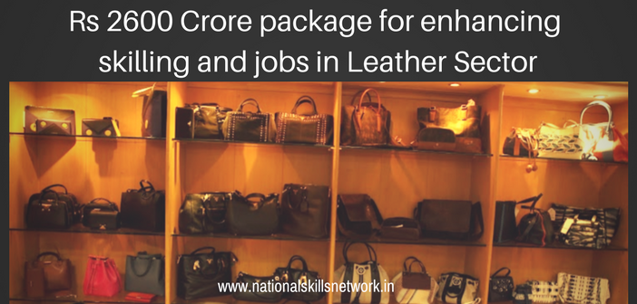 skill development leather sector