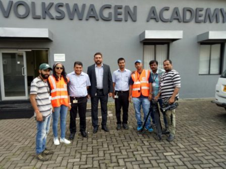 Hunnarbaaz Team at Volkswagen 2