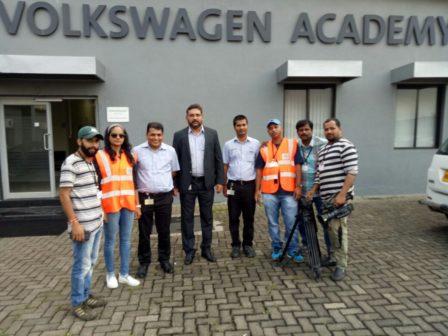 Hunnarbaaz Team at Volkswagen 2
