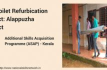Toilet refurbication project ASAP Kerala