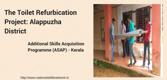 Toilet refurbication project ASAP Kerala