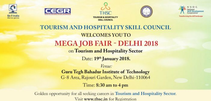 Tourism and Hospitality Job Fair Delhi