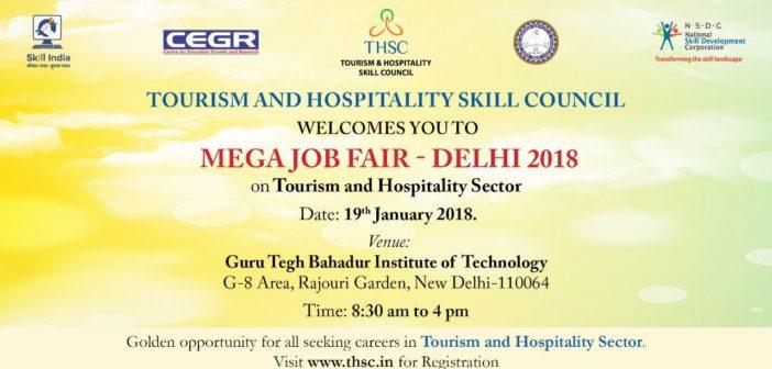 Tourism and Hospitality Job Fair Delhi