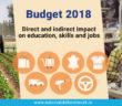 Budget 2018 Skills and jobs