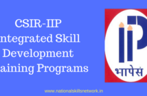 CSIR-IIP Integrated Skill Development Training Programs