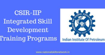 CSIR-IIP Skill Training Programs