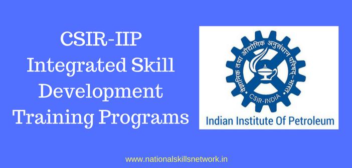 CSIR-IIP Integrated Skill Development Training Programs
