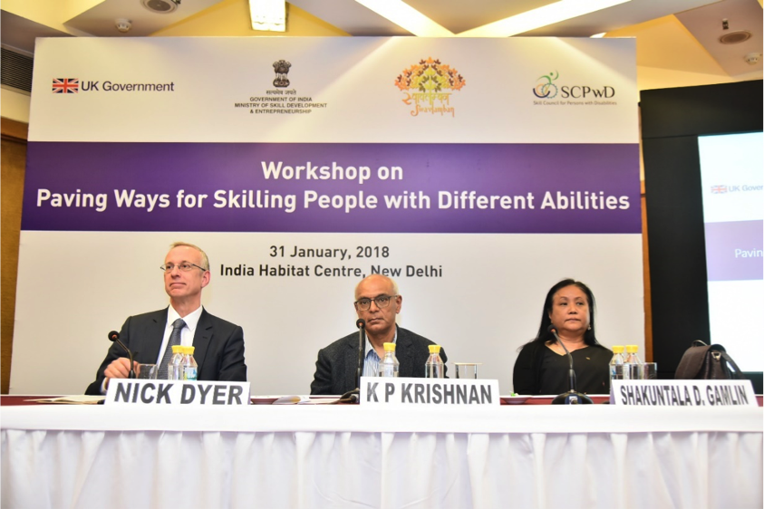 DFID ScPwD workshop on skills